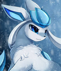 Portrait Comm: Nixx the Glaceon