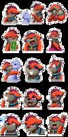Sticker Pack: Sleepy