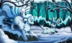Comm: Snowy Forest