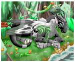 Kattira Dragon by rosethorn