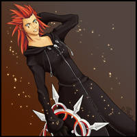 Axel - Kindom Hearts 2 by rosethorn