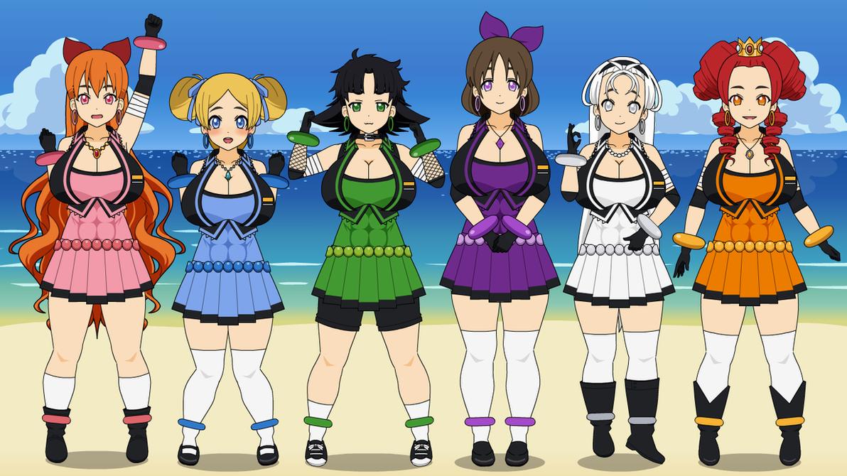 Powerpuff Girls Z Bell And Bunny