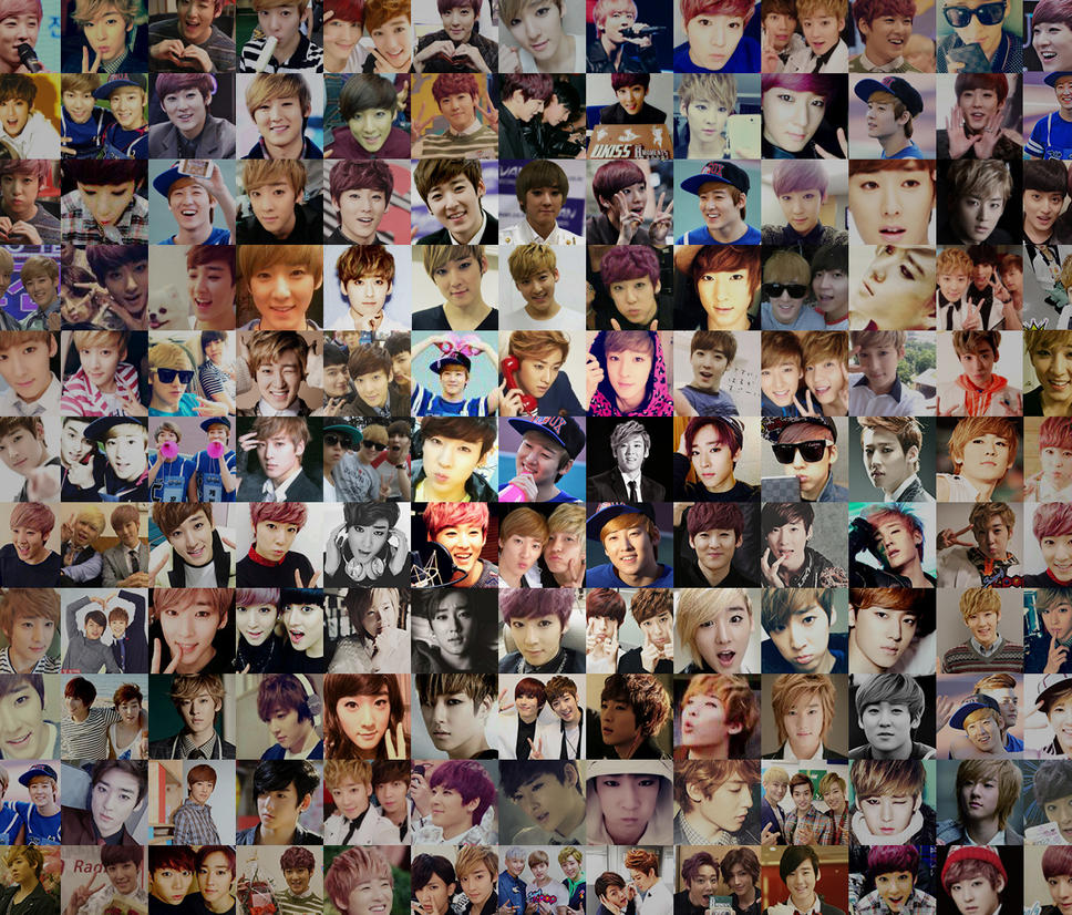 kevin icon collage android wallpaper by seoulsweetheart on deviantart
