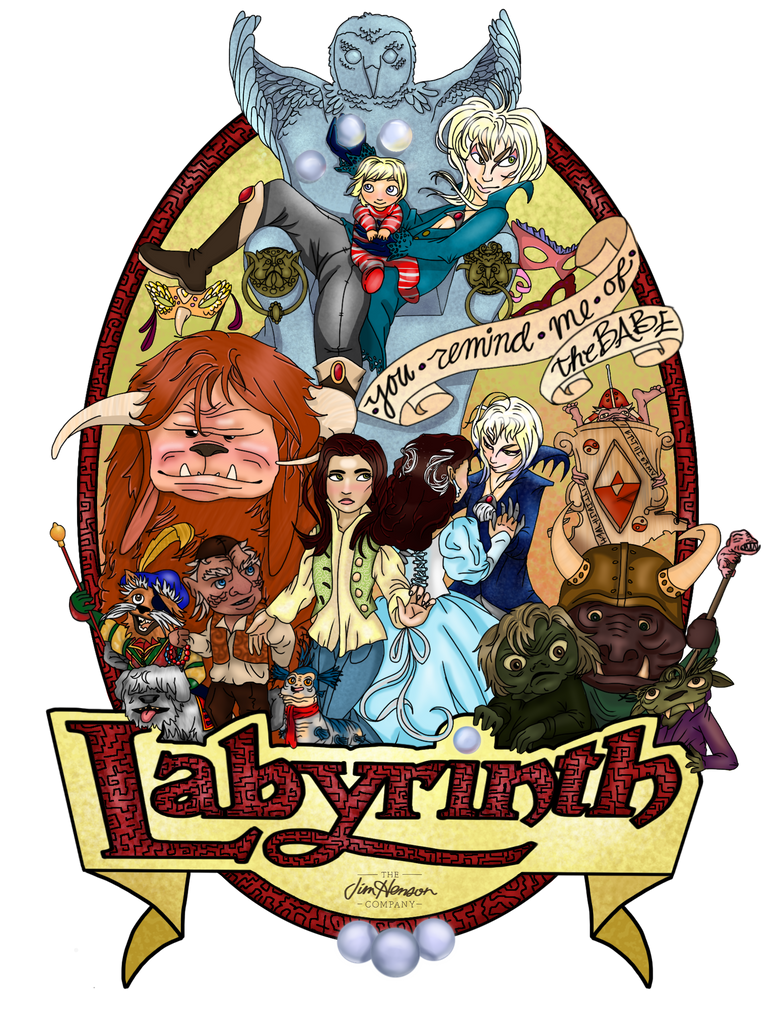 labyrinth poster final by babewithepower on deviantart
