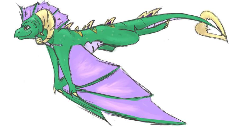Spyro OC: Flitvian -teen- by blacktigerfox