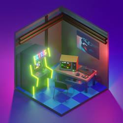 Mini Arcade Room