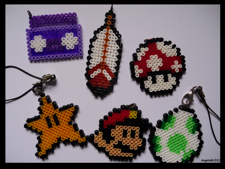 MIni Hama Beads Mario Kit 2 by Dark-Unicor