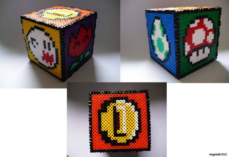 Box Hama Beads by Dark-Unicor