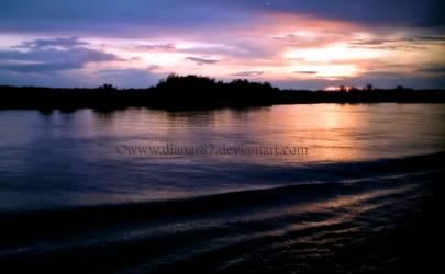 Evening Danube by dianar87