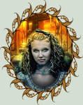 Portrait of Vampire Claudia