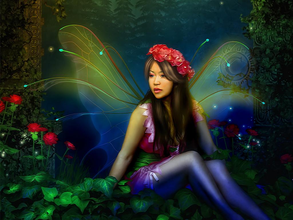 real fairy wallpaper - photo #14