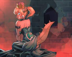 BOWSER...! Wait, Peach? What?