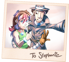 A gift for Stephanie (REQUEST)