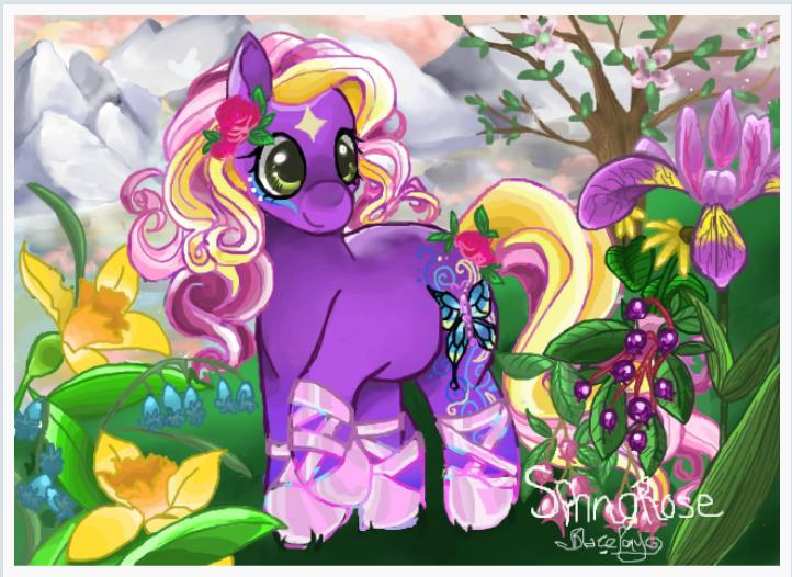 Springrose by TheLittleDixie