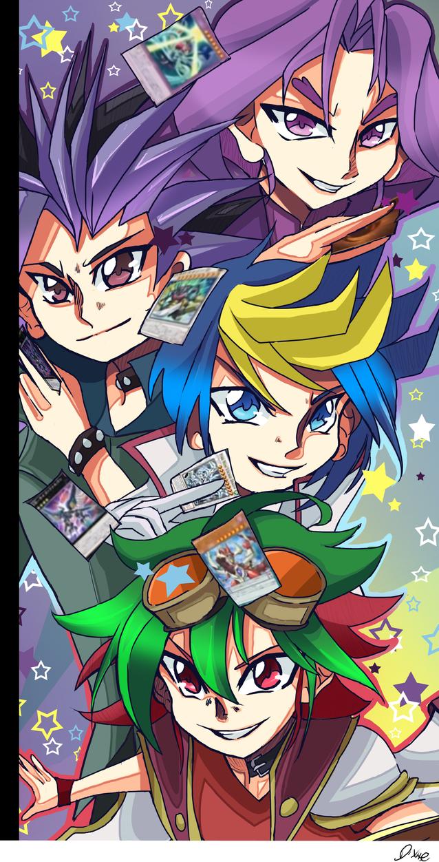 Yu-Gi-Oh Arc-V 2 by TheLittleDixie