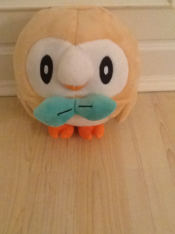Rowlet Plush by JessicaPedley