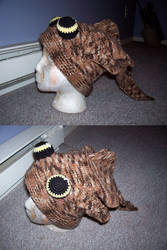 Pleco hat by Coralle