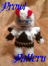 Mini Prowl Crochet Pattern by Coralle