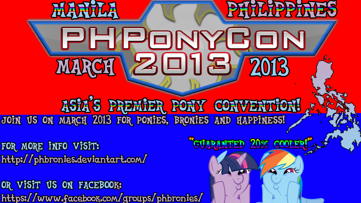 PHPonyCon 2013 by YourFavoriteSenpai