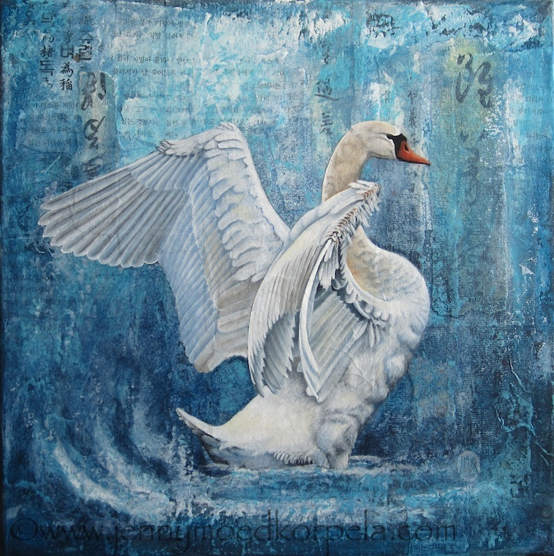 Swan by JennyMoedKorpela
