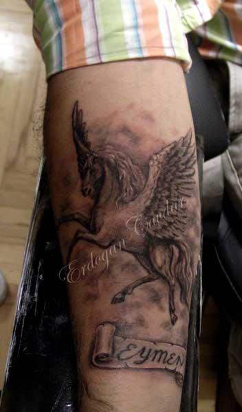 Pegasus Tattoo: Pegasus Tattoo By ErdoganCavdar On DeviantArt