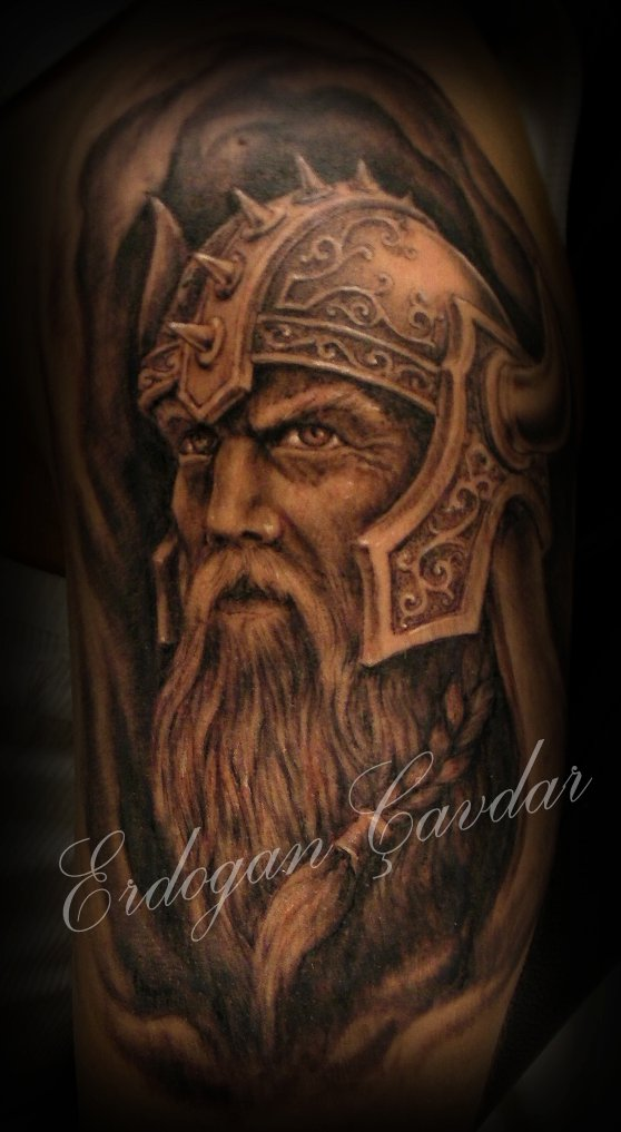 viking warrior tattoo ...