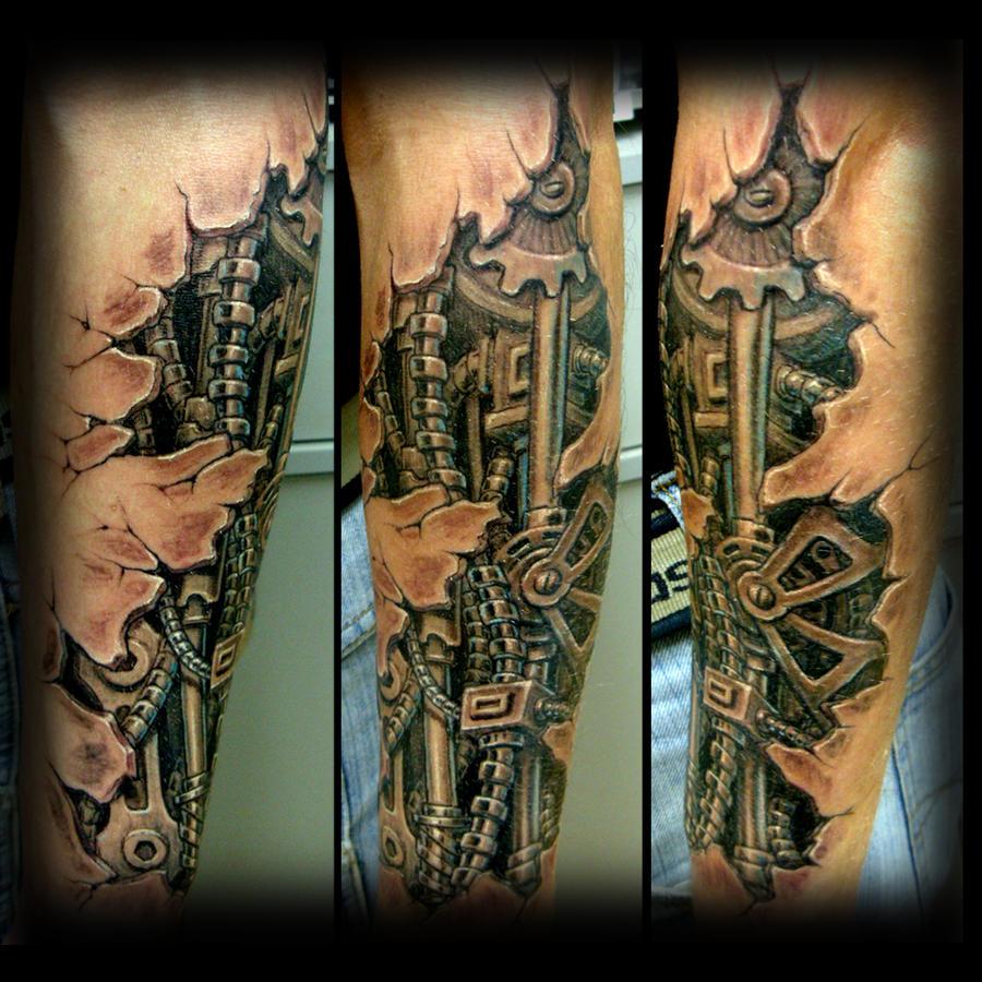 biomechanic tattoo by ErdoganCavdar