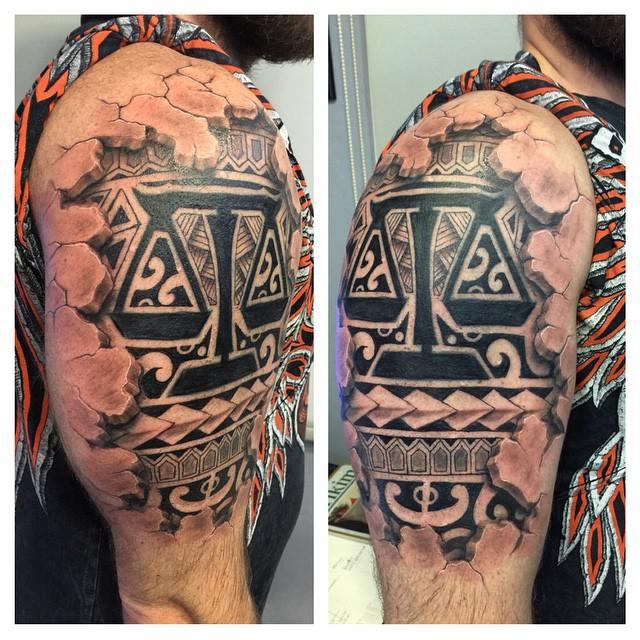 3d maori tattoo by ErdoganCavdar
