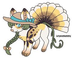 Hima the foxfan by unishamaani