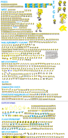 TVGE Sprite Sheet (Update) by THEVIDEOGAMEEXPERT-2