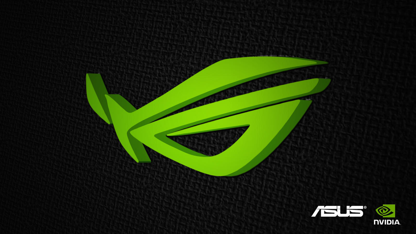 Asus Green Wallpaper: Nvidia Infused By XLiefx On DeviantArt