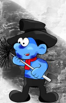Sweepy Smurf