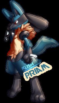 Pokemon Commission: Priam