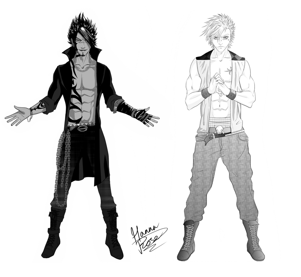 Top Anime Character Design : Raven and skylark official ns character designs by