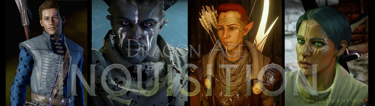 Dragon Age Tumblr Banner by IntelligentWolf