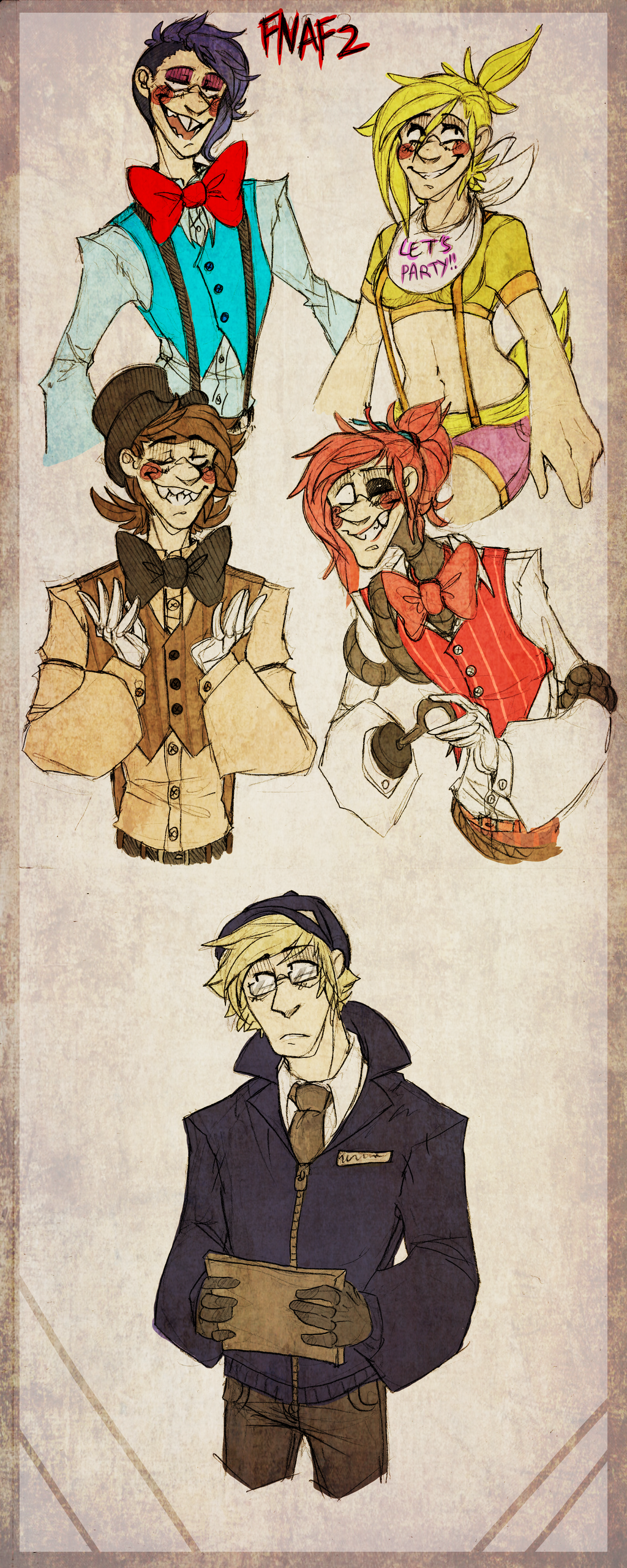 Angle fox and the foxy pirate
