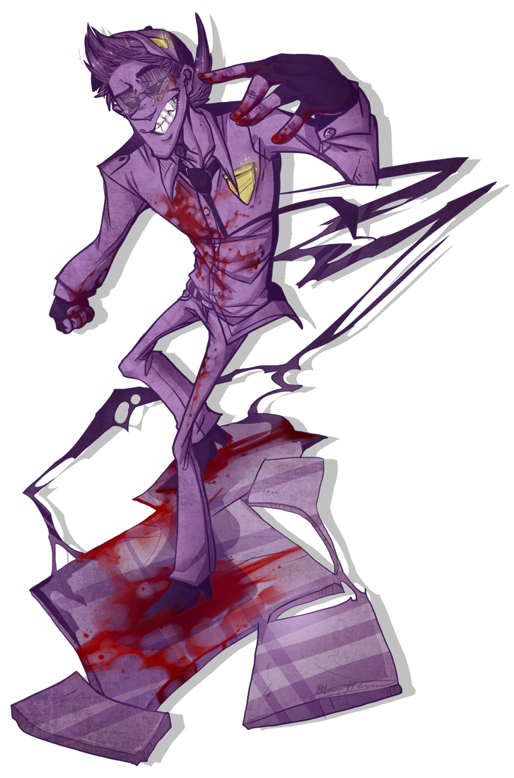 Blood on the floor by BlasticHeart