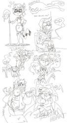 Roomies Drawings 4