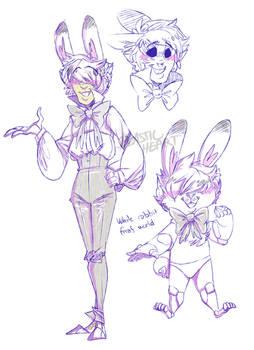 White Rabbit from Fnaf world