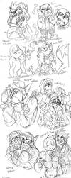 Random Drawings by BlasticHeart