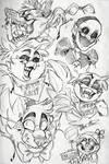 fnaf sketches