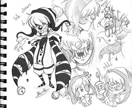 Clown oc - Poppy