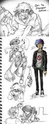 Drawings Sketches- Off,fnaf,random by BlasticHeart