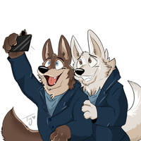 Gary and Larry - Zootopia by Tykira