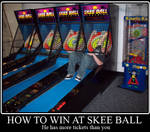 How to win at Skee Ball