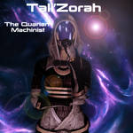 Tali'Zorah Poster