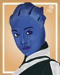 Liara T'Soni: Mass Effect Squadmates by mpcreates
