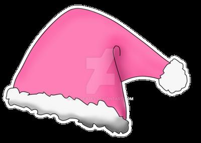 Pink Santa Hat Design by mpissott on DeviantArt