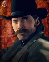 Doc Holliday // Wynonna Earp by mpcreates