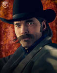 Doc Holliday // Wynonna Earp by mpcreates